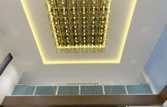 Copy of 10 View Reception Area false ceiling - option - 3