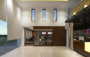 3 view  Reception Area Option - 4