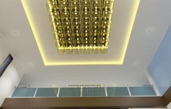 Copy of 10 View Reception Area false ceiling - option - 3
