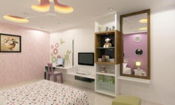 F.F.Girls bed room 02
