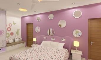 F.F. Girls bed room 01