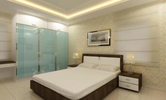 G.F. Parents bed room 01