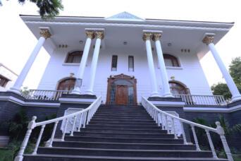 Kusuma Kumar (Congree Leader ) , Independent House at Jubilee Hills , Hyderabad