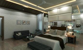 master bedroom 2 -third floor